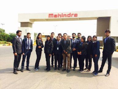 Mahindra industrial visits